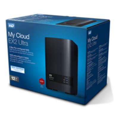 Western Digital My Cloud EX2 Ultra 2-Bay Leergehäuse für 109€ bei NBB