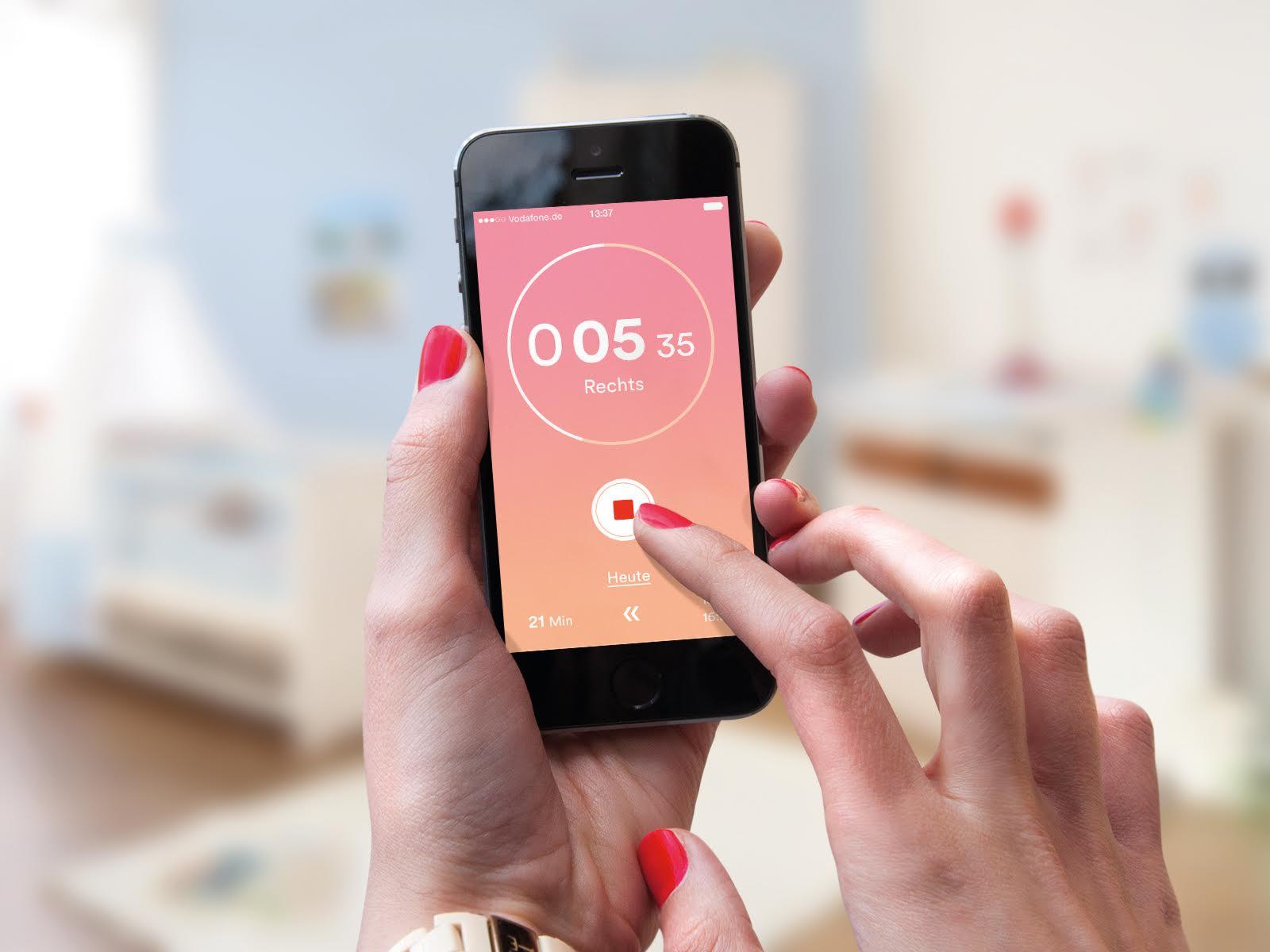 Gerade Mutter/Eltern geworden? Kostenlose App fürs Stillen