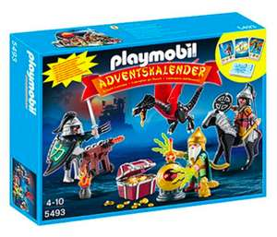 Playmobil 5493 Adventskalender Kampf um den Drachenschatz für 11,69€ bei Abholung @ [Galeria Kaufhof] oder für 12,99€ mit Prime
