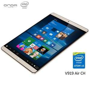Onda V919 Air Tablet PC 2GB RAM Windows 10 + Android 4.4 Intel Z3735F 64bit 9.7 Zoll