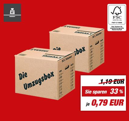 Offline Umzugskarton 50 Liter Stück 0,79
