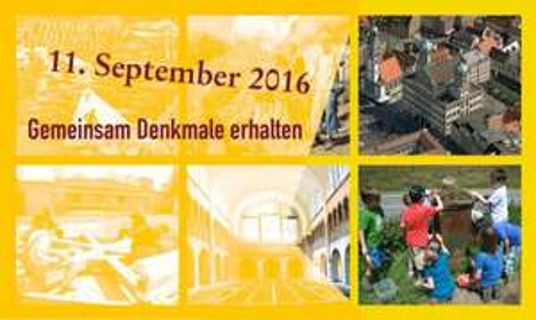 Tag des offenen Denkmals am 11.09.2016 Bundesweit