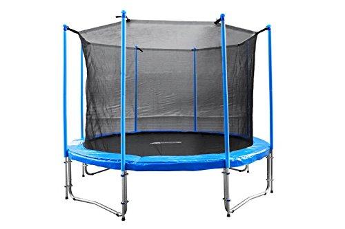 [Amazon] FA Sports Gartentrampolin mit Sicherheitsnetz Flyjump Monster, blau, 305 cm 115,65 €
