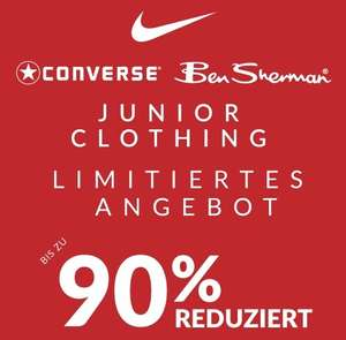 [SportsDirect] Junior Clothing Flash Sale