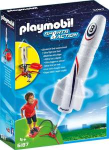 [Amazon] PLAYMOBIL 6187 - Rakete mit Spring-Booster als Plus Produkt für 5,95€