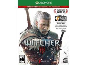 Xbox One Witcher 3 Game of the Year Edition