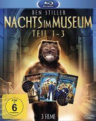 Nachts im Museum: 1-3 (Bluray) für 12,99€ versandkostenfrei [Saturn]