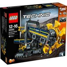 LEGO Technic Schaufelradbagger 42055 bei ZackZack (powered by Alternate)