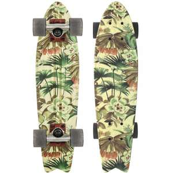 "Globe Bantam ST Jungle 23"" Cruiser Complete Skateboard"