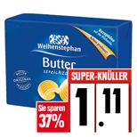 EDEKA Weihenstephan Tafelbutter 37 % Reduziert - Ab 12.9 bis 17.9