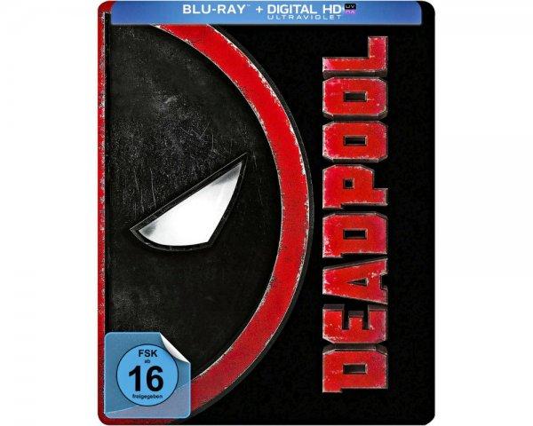 [Hugendubel] Deadpool Blu-ray Steelbook für 21.99€ (statt ~40€)