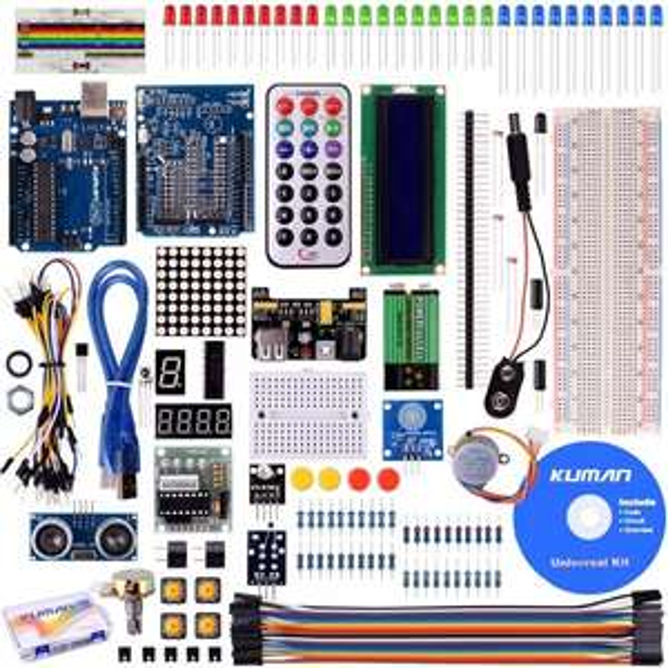 Kuman Project Super Starter Kit Set für Arduino UNO R3 Mega2560 Mega328 Nano K4 @Amazon