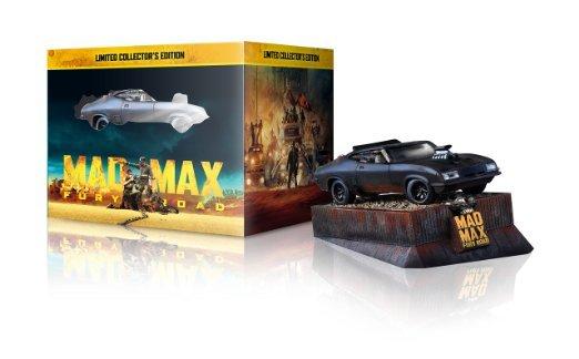 [Amazon] Mad Max: Fury Road Sammleredition (3D-Steelbook & Interceptor Auto-Modell) [3D Blu-ray]