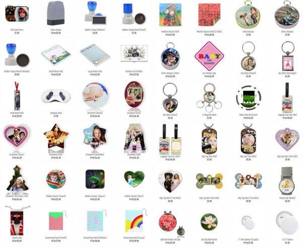 10 Personalisierte Produkte für ca. 18€ (Inkl. Versand) [>80% Ersparnis!]