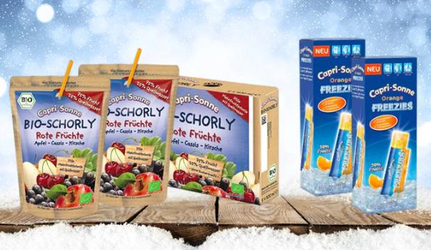 Jetzt noch 10 Freezies mehr : 50 Capri Sonne Freezies Orange + 5 Bio Schorly für 8,99€ bei [KaufstDu]