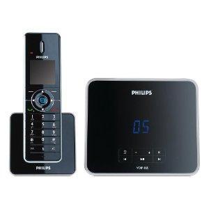 Amazon: Philips VoIP 8551 Dual Telefon (Skpye ohne PC) mit AB - 69,99€ (IdealoVergleichspreis ab 100€)