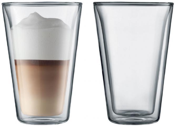 Bodum Canteen 0,4 Doppelwandige Iso-Gläser 6er-Set