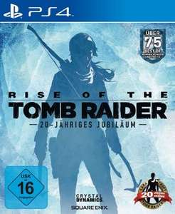 Rise of the Tomb Raider: 20-Jähriges Jubiläum (PS4) für 41,99€ [Groupon]