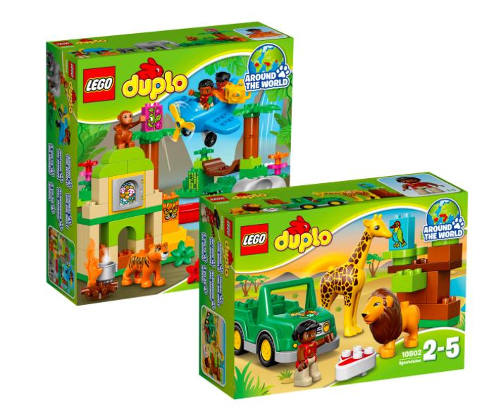 15% Rabatt auf Lego Duplo bei [GALERIA Kaufhof] z.B. Wildlife Set Dschungel 10804 & Savanne 10802 für 42,49€ bei Abholung, statt ca. 60€