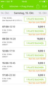 FlixBus Aktion bis 15.09.2016