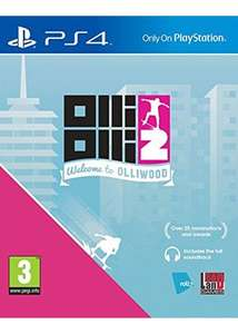 (Base.com) OlliOlli 2: Welcome to Olliwood (PS4) für 16,27€