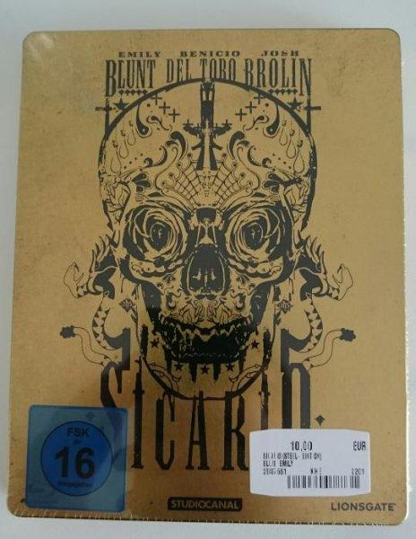 [Lokal Hamburg] Sicario Steelbook Blu-ray