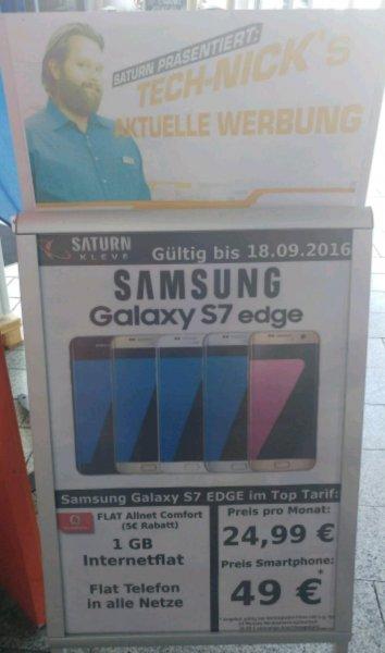 Samsung Galaxy S7 Edge [mit Vertrag]