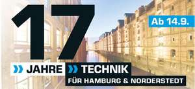 SATURN HAMBURG FEIERT GEBURTSTAG  /// Kostenlose Lieferung und viele Angebote