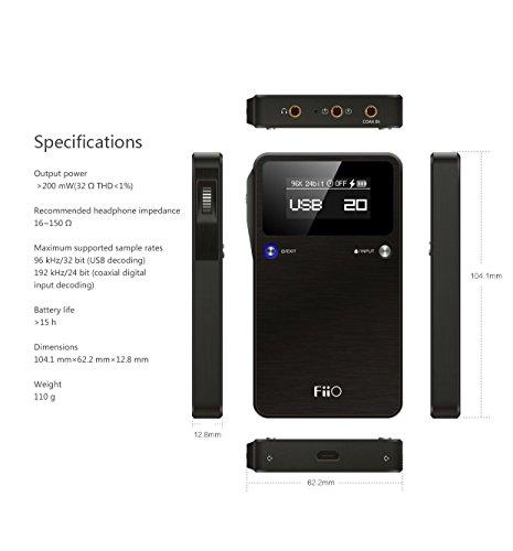FiiO E17K Alpen 2 DAC KHV 124,58€ Amazon.it Marketplace