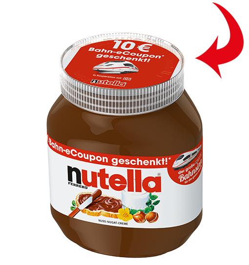 Nutella für 1,89 Euro bei real