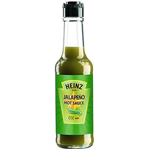 original Heinz Jalapeno und Habanero Saucen