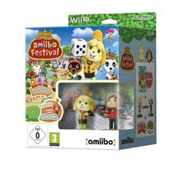 Amazon Prime Animal Crossing: amiibo Festival + 2 amiibo-Figuren + 3 amiibo-Karten für Wi U- für 9,29