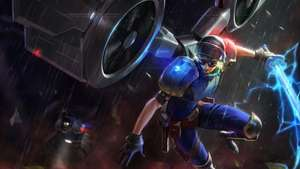 League of Legends Riot Kayle Skin for free