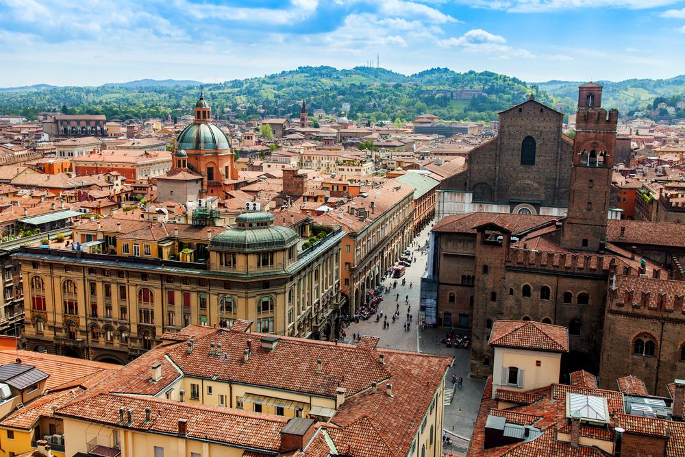 6-tägige Reise nach Bologna für 2 Personen inkl. Transfer, Flug ab Weeze [Preis p.P.]