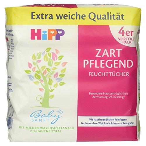 Amazon Prime/Sparabo HiPP Babysanft Feuchttücher 4 x 56 Stück