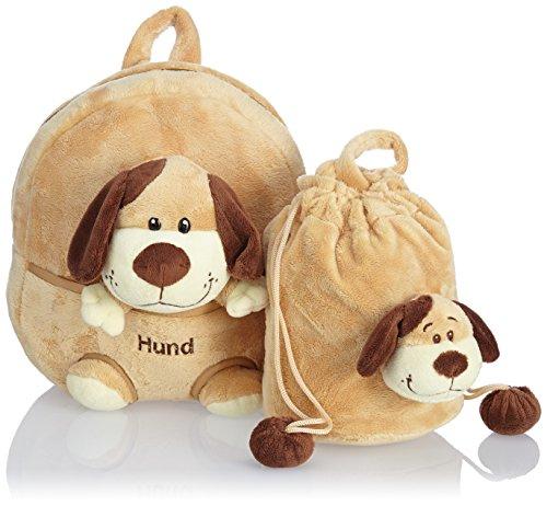 Hauptstadtkoffer Kinder-Rucksack HUND mit Plüschtier für 12,86€ mit [Amazon Prime]