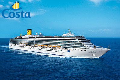 [ALDI Reisen] In 107 Tagen um die Welt Weltkreuzfahrt mit der Costa Luminosa