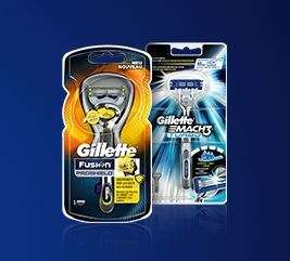 [offline] Gillette Amnesty 2016 ProShield/Mach3 Turbo GRATIS Rasierer per Post anfordern