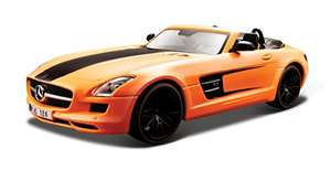 Amazon/Prime Maisto 531370 - 1:24 AllStars Mercedes-Benz SLS AMG Roadster