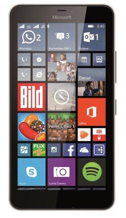 """[Favorio] Microsoft Lumia 640 XL,DS, weiß [14,47 cm (5,7"""") HD Display, Windows Phone 8.1, 1.2GHz Quad-Core, 13MP Kamera, Dual-SIM] **Neu mit beschädigter oder neutraler Verpackung** für 99,85€"""