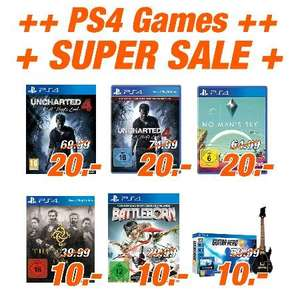 [Flösch] Emmendingen/Müllheim - PS4 Games Super sale. Zb Uncharted 4 20€ No manx27s sky 20€