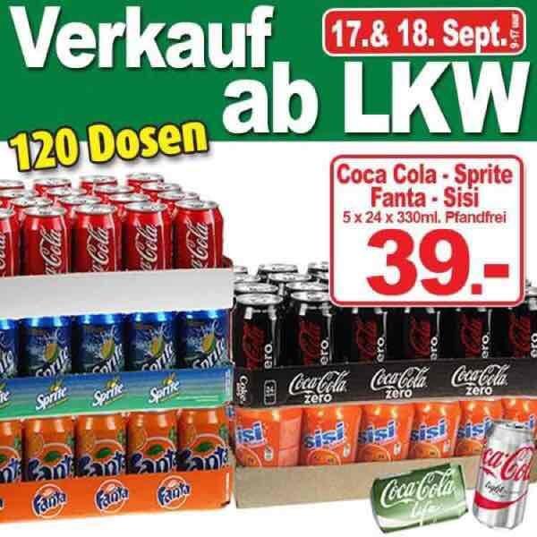 [Ter Hurne-lokal] 72x 0,5L Monster 40€, 120x 0,33L Cola 39€, etc. PFANDFREI