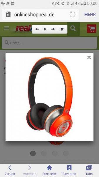 Monster, Kopfhörer N-Tune OnEar bei Real für 30 Euro