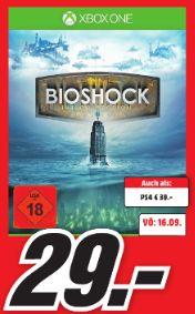 [Lokal Mediamärkte Koblenz/Neuwied] BioShock: The Collection (Xbox One) für 29,-