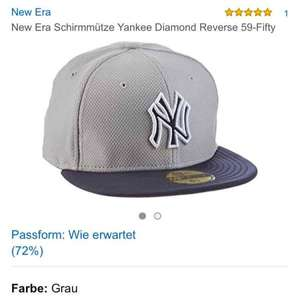 Amazon New York Yankees New Era Cap Größe 6,785 für 7,51 Euro