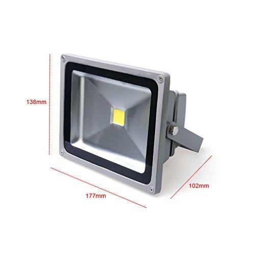 Auralum 20W LED Außenstrahler [Energieklasse A+] für 12,28€ bei amazon.de