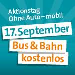 [lokal Ulm & Umgebung] Bus & Bahn kostenlos am 17. September
