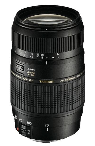 Tamron AF 70-300mm 4-5,6 Di LD Macro Tele-Zoom Objektiv [Canon, Minolta/Sony, Pentax, Nikon] @mediamarkt.de