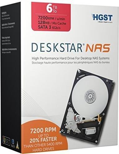 "[zackzack] 6TB 3,5"" HGST NAS-HDD (24/7 Betrieb) 7200 U/min"