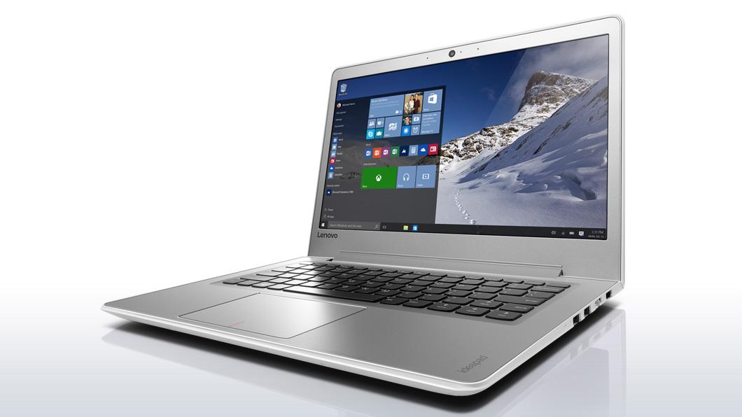 Lenovo Ideapad 510S-13ISK mit Core i5-6200U, mattes 13,3 Zoll Full-HD-IPS-Display, 128GB SSD, 4GB DDR4, Windows 10, 1,56kg, 6h Akku bei Lenovo